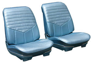 Seat Upholstery, 1970 Cutlass S, 4-4-2 Sport Coupe & Holiday Coupe Buckets