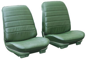 """Seat Upholstery, 1971-72 Cutlass """"S"""", 4-4-2 Sport Coupe & Holiday Coupe Buckets"""