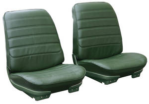 """1972-1972 Cutlass Seat Upholstery, 1971-72 Cutlass """"S"""", 4-4-2 Sport Coupe & Holiday Coupe Buckets, by PUI"""