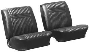 Seat Upholstery, 1964 Cutlass Holiday Buckets