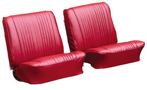 Seat Upholstery, 1965 Cutlass Holiday, 4-4-2 & Sport Buckets (Holiday & 4-4-2), by PUI