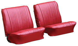 Seat Upholstery, 1965 Cutlass Holiday, 4-4-2 & Sport Buckets w/Coupe Rear (Holiday & 4-4-2)