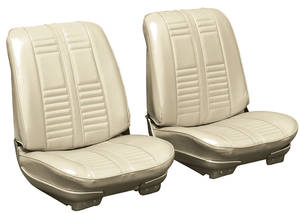 1966-1966 Cutlass Seat Upholstery, 1966 Cutlass Holiday & Sport Buckets w/Coupe Rear (Holiday), by PUI