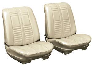 Seat Upholstery, 1966 Cutlass Holiday & Sport Rear Seat Sedan (Sport)