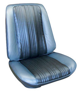 Seat Upholstery, 1967 Cutlass Holiday & Sport Buckets (Sport)