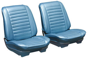 1967-1967 Cutlass Seat Upholstery, 1967 Cutlass Holiday & Sport Rear Seat Convertible (Holiday), by PUI