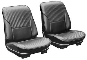 Seat Upholstery, 1968 Cutlass, 4-4-2, Supreme, Hurst/Olds Sport Coupe, Holiday Coupe/Convertible Split Bench w/Convertible Rear