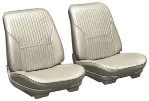 Seat Upholstery, 1969 Cutlass Split Bench w/Coupe Rear