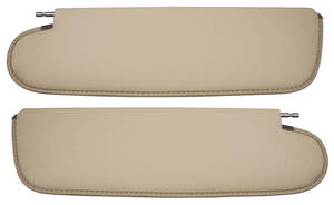 1968-72 Chevelle Sun Visors Convertible Madrid Grain Vinyl