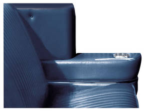 1964 Tempest Armrest Cover Set, Rear Quarter (Convertible)