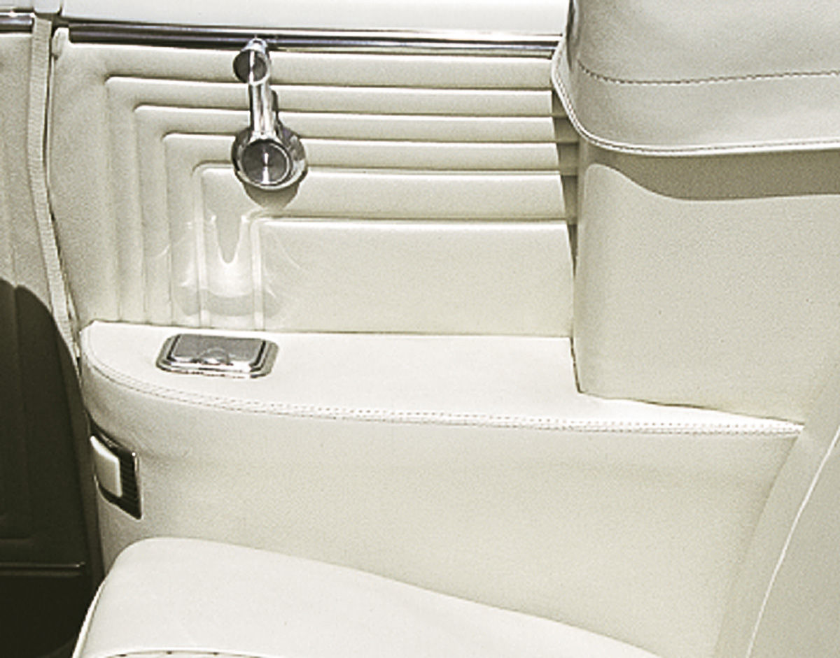 Photo of Bonneville Armrest Covers, Rear Coupe
