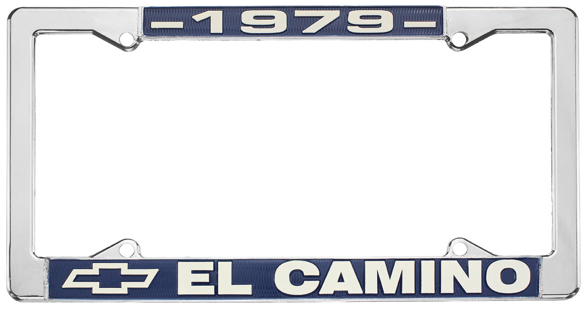 "Photo of License Plate Frame, ""El Camino"" El Camino"