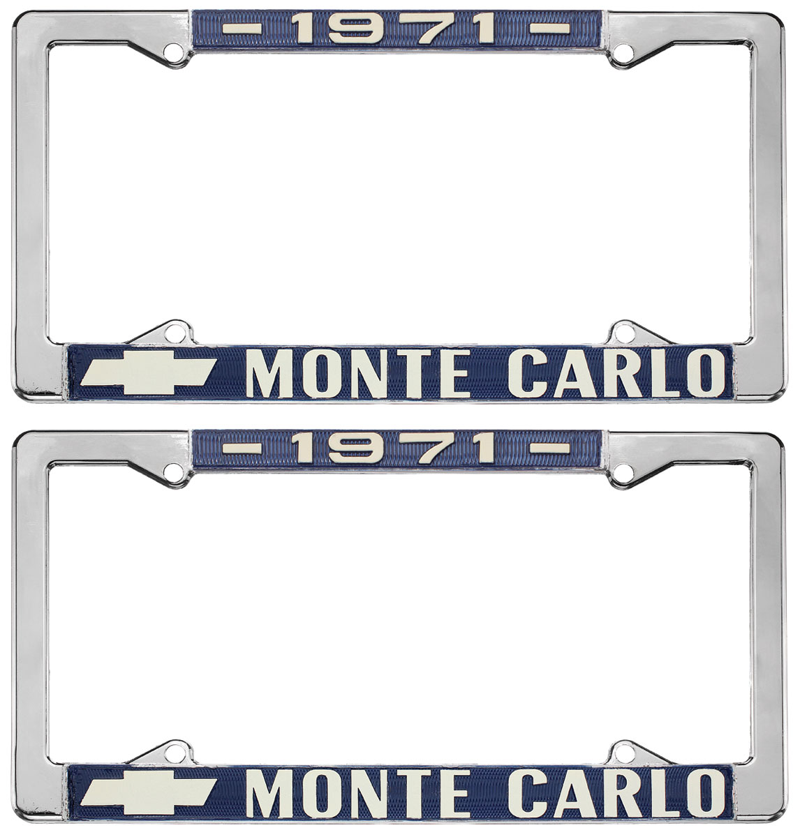 "Photo of License Plate Frame, Custom ""Monte Carlo"""