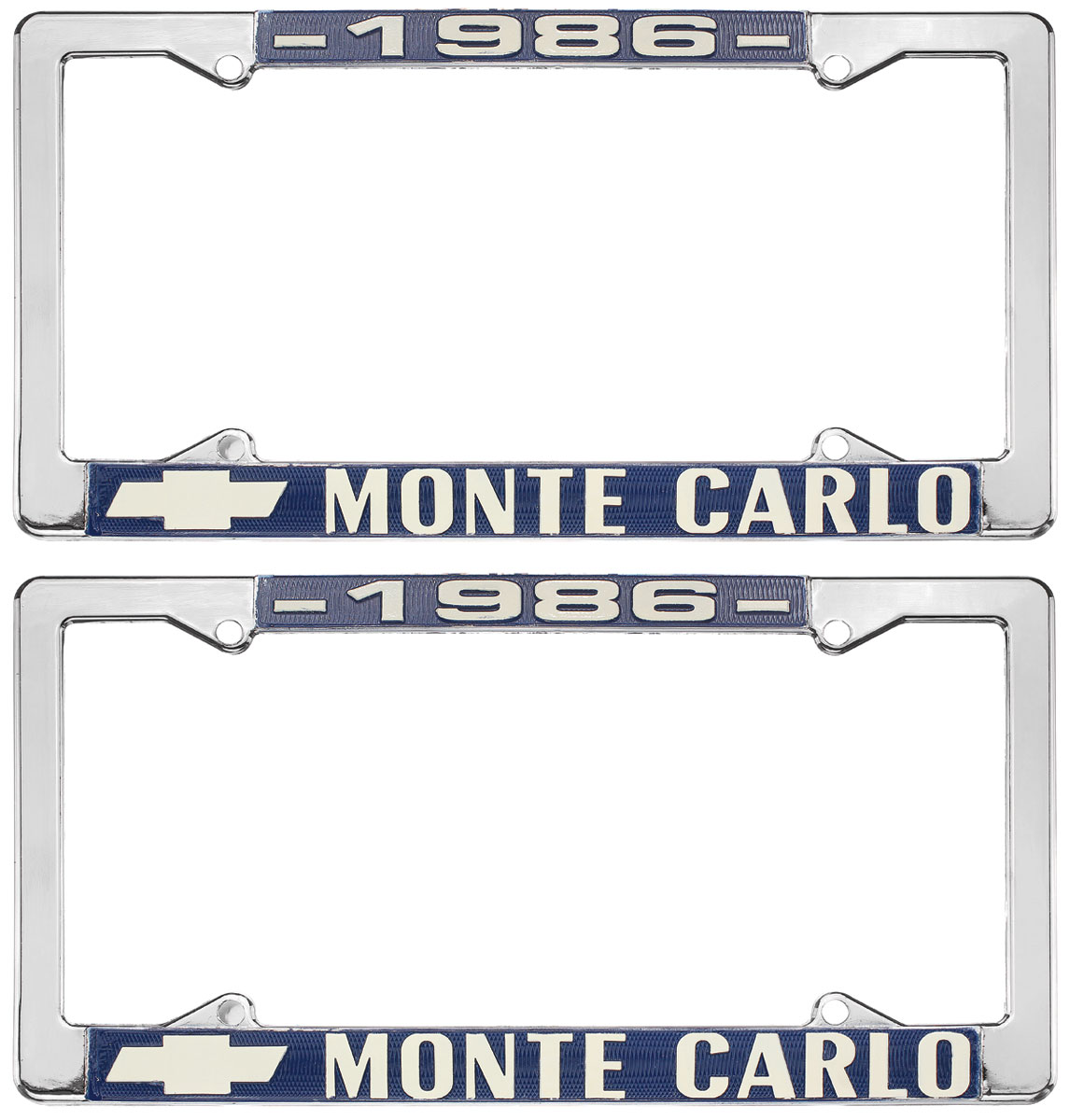 "Photo of License Plate Frame, ""El Camino"" Monte Carlo"