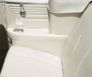 1964 Tempest Armrest Cover Set, Rear Quarter (Convertible), by PUI