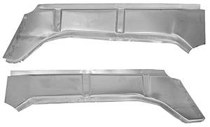 1966-67 GTO Trunk Inner Side Filler Panel