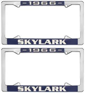 License Plate Frames, 1964-72 Skylark