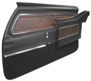 Cutlass Door Panels, 1970 Pre-Assembled Front, Supreme, by PUI
