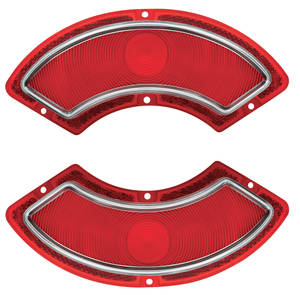 Tail Lamp Lens, 1962 Catalina