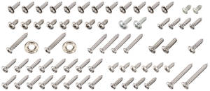 1964 Interior Screw Sets Catalina 4-dr., 63-Piece