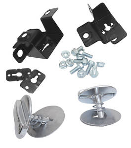 Cutlass Hood Lock Kit, 1970-72