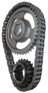 1964-1977 Cutlass Timing Chains, Performer True-Link Roller 330-455, by Edelbrock
