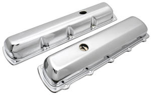 1964-77 Cutlass Valve Covers, Chrome