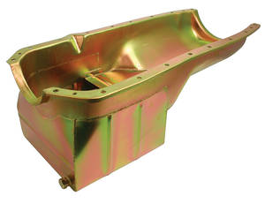1964-77 Cutlass Oil Pan, High-Capacity/Low Profile, by MILODON
