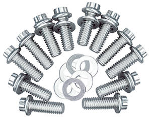 1964-1977 Cutlass Header Bolts, Race Quality 330-455 12-Point Head, Stainless Steel, by ARP