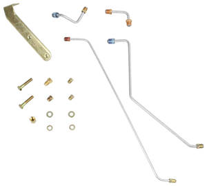 1964-1966 El Camino Disc Brake Conversion Lines Big-Block/Small-Block (5-Piece), by CPP