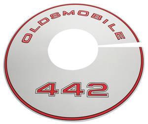 1968-1968 Cutlass Air Cleaner Top Plate 4-4-2
