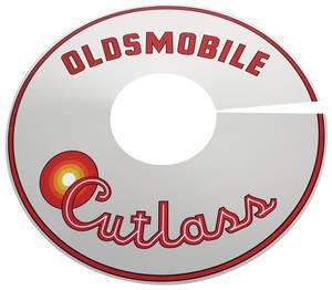 1965-1966 Cutlass Air Cleaner Top Plate 330 Cutlass 4-V