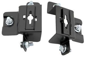 Cutlass Hood Lock Brackets, 1970-72