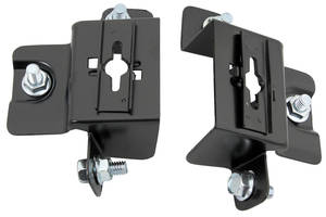 Cutlass/442 Hood Lock Brackets, 1970-72