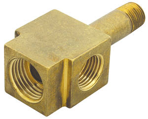 1966-1966 Cutlass Tri-Power Accessory Fuel Line Block