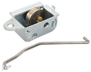 1966-1966 Cutlass Tri-Power Accessory Choke Stat & Arm