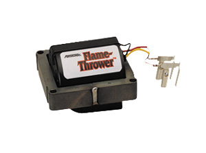 1978-88 El Camino Distributor Accessory, Flame-Thrower HEI 90° Coil GM HEI (V6 & Most V8) (Red/Yellow), by PERTRONIX