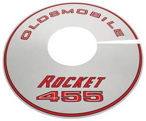1968 Cutlass Air Cleaner Top Plate Hurst Olds 455