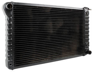 "1971 Cutlass Radiator, Desert Cooler 4-Row 17"" X 28-3/8"" X 2"" AT, Passenger Filler, by U.S. Radiator"