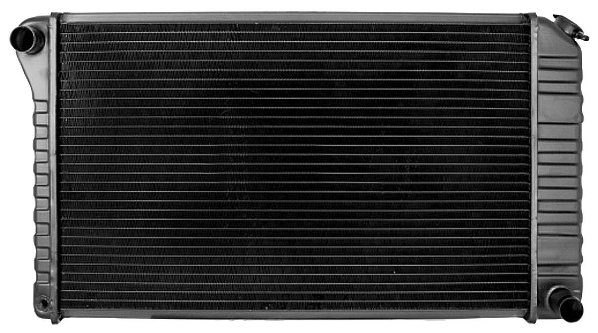 "Photo of Radiator, Desert Cooler 4-Row Automatic Transmission, Passenger Filler (17"" X 28-3/8"" X 2-5/8"")"