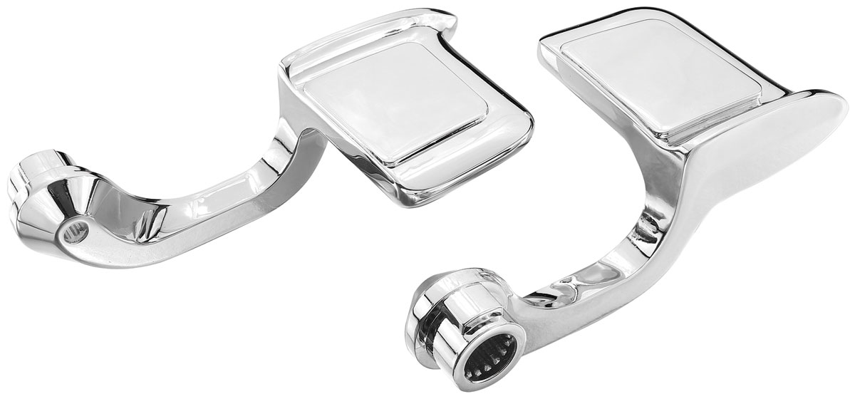 Photo of Door Handle, Chrome Inside Grand Prix And Bonneville paddle-style (LH & RH)