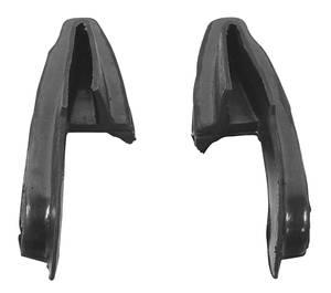 1976-77 Cutlass Bumper Fillers Front Plastic
