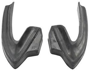 1967-1967 Cutlass Bumper Fillers Rear Rubber
