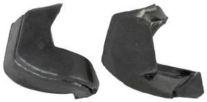1968 Cutlass Bumper Fillers Rear Rubber