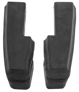1969-1969 Cutlass Bumper Fillers Front Rubber