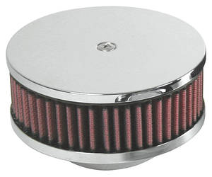 "1959-65 Grand Prix Air Cleaner, Tri-Power 2-5/8"" Neck Size"