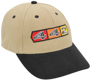 1961-1977 Cutlass Oldsmobile Custom Embroidered Hat 4-4-2, by Hot Rods Plus