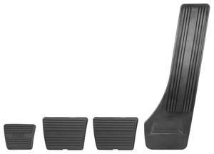 1964-1967 Cutlass Pedal Pad Kits 4-Speed w/Drum Brake, by RESTOPARTS
