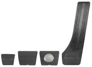 1964-1967 Cutlass Pedal Pad Kits 4-Speed w/Disc Brake, by RESTOPARTS