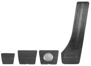 1964-67 Cutlass/442 Pedal Pad Kits 4-Speed w/Disc Brake